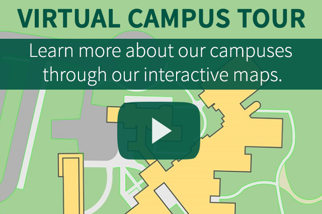 Learn more about our campuses through our interactive maps!