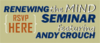 RSVP for DC's Renewing the Mind Seminar