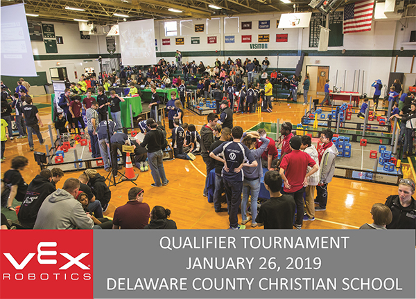 DC to Host VEX Robotics Qualifier
