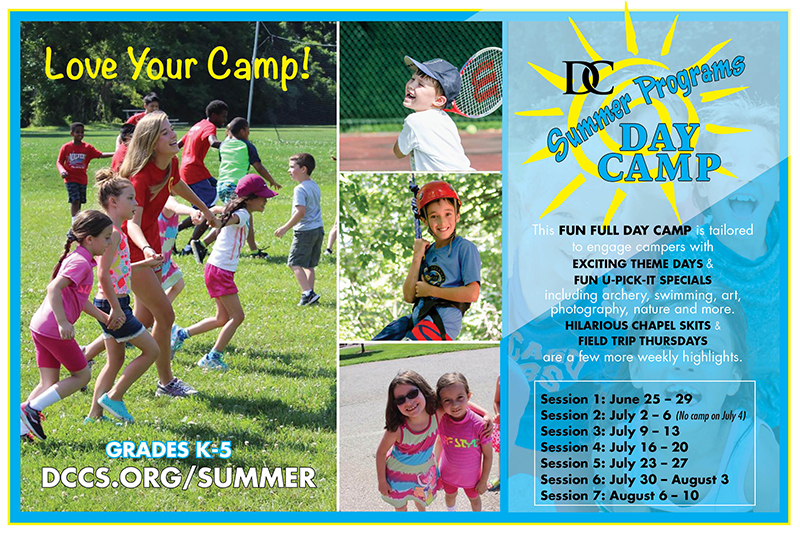 Discovery Day Camp Post Card